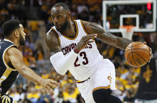 LeBron James Cavaliers NBA