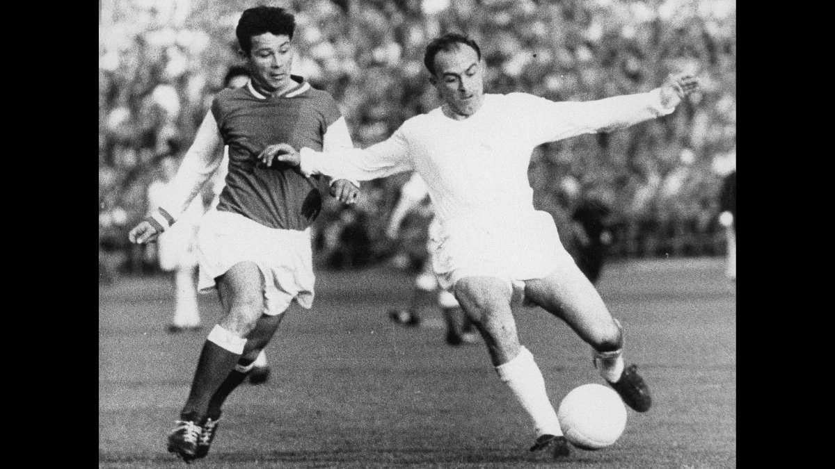 Alfredo Di Stefano - die besten Fußballspieler der Welt