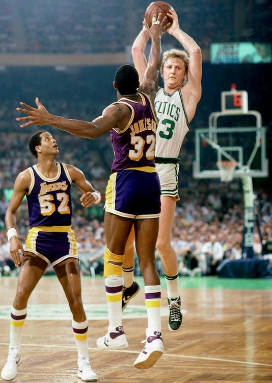 1984 NBA-Finals Larry Bird Magic Johnson