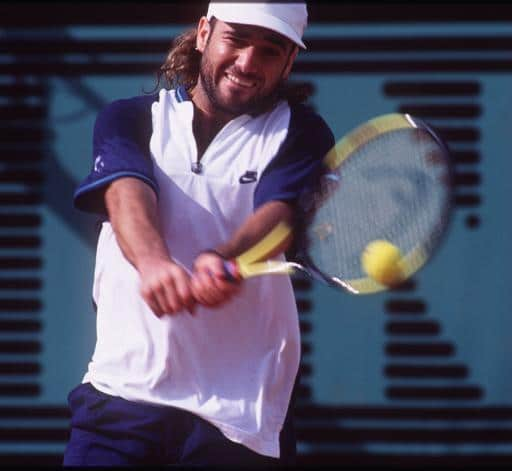 Andre Agassi top10 tennisspieler