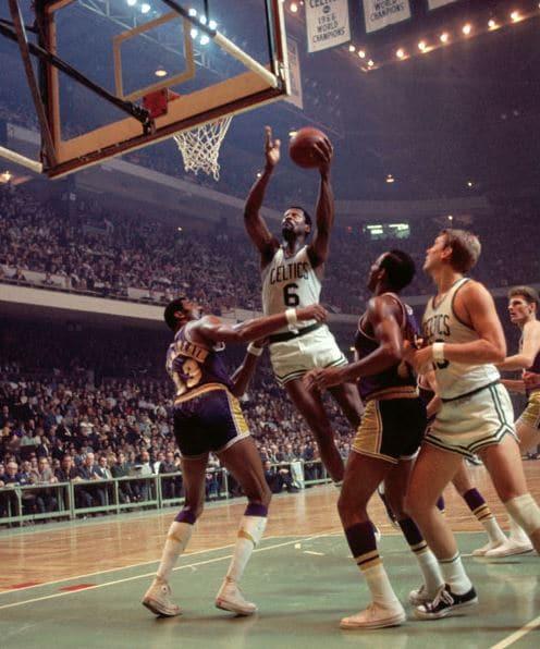 Bill Russell Wilt Chamberlain NBA Finals 1969