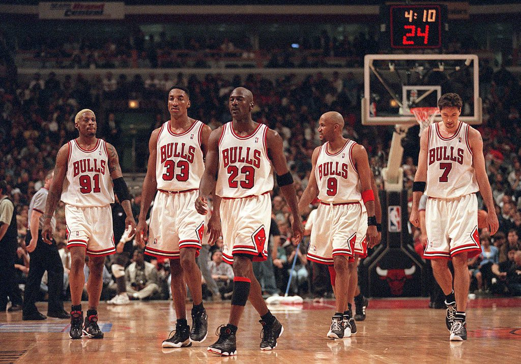 Chicago Bulls NBA Meister 1998