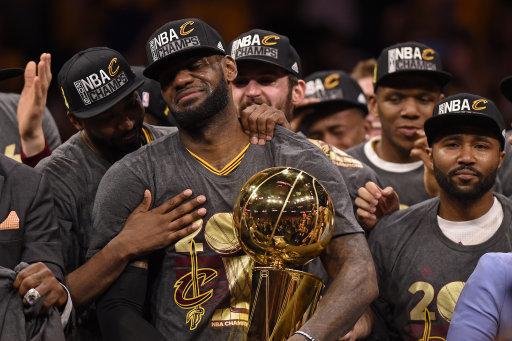 Cleveland Cavaliers LeBron James NBA Champions 2016