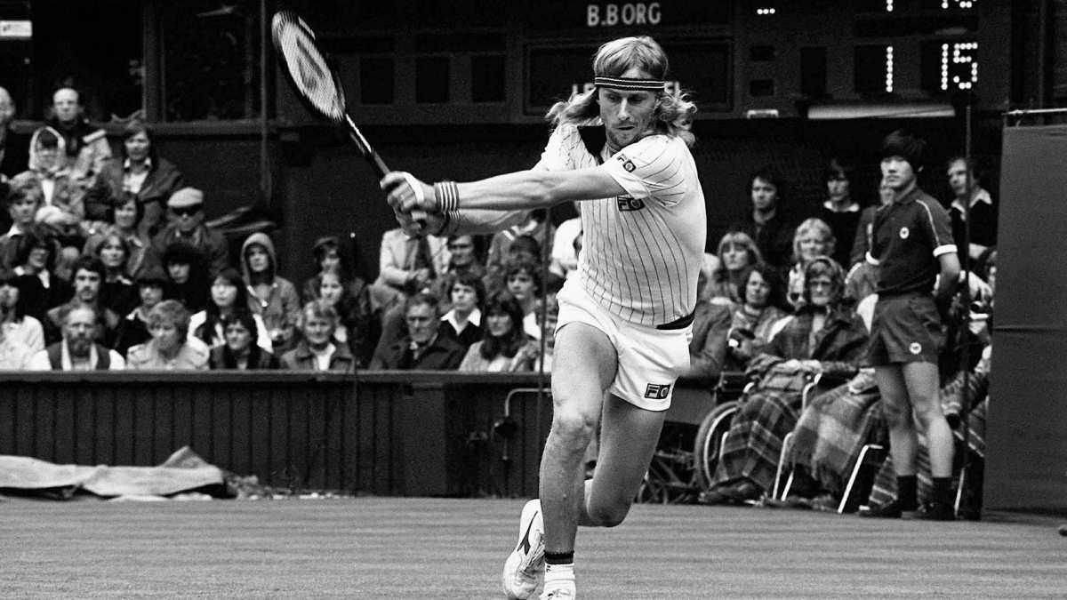 Die besten Tennisspieler aller Zeiten - Björn Borg