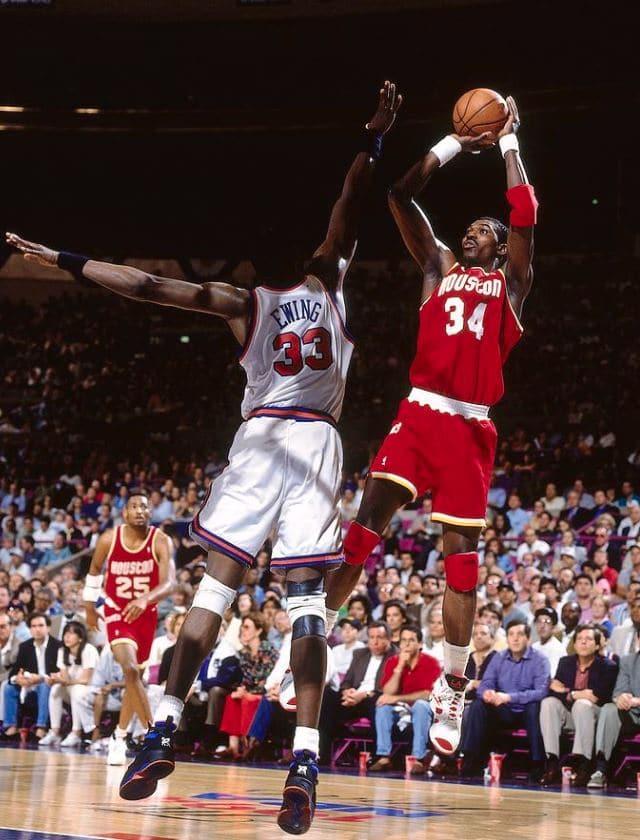 Hakeem Olajuwon Patrick Ewing NBA Finale 1994