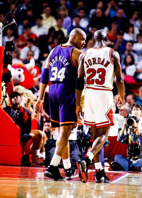 NBA Finals 1993 Charles Barkley Michael Jordan