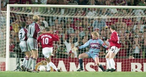 Champions League Finale 1999 Manchester United - Bayern München