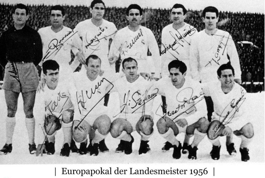 Europapokal der Landesmeister 1956 Real Madrid