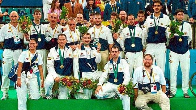 2000 Paralympics Spaniens Basketballteam