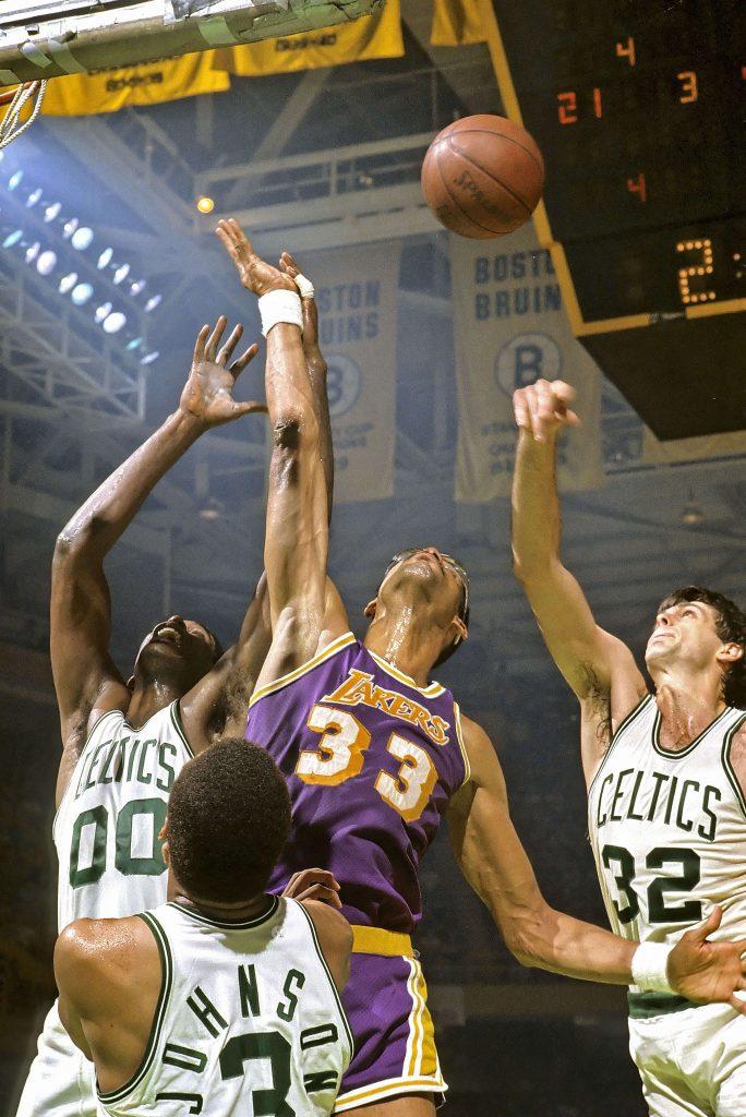 Los Angeles Lakers und die Boston Celtics (Basketball)