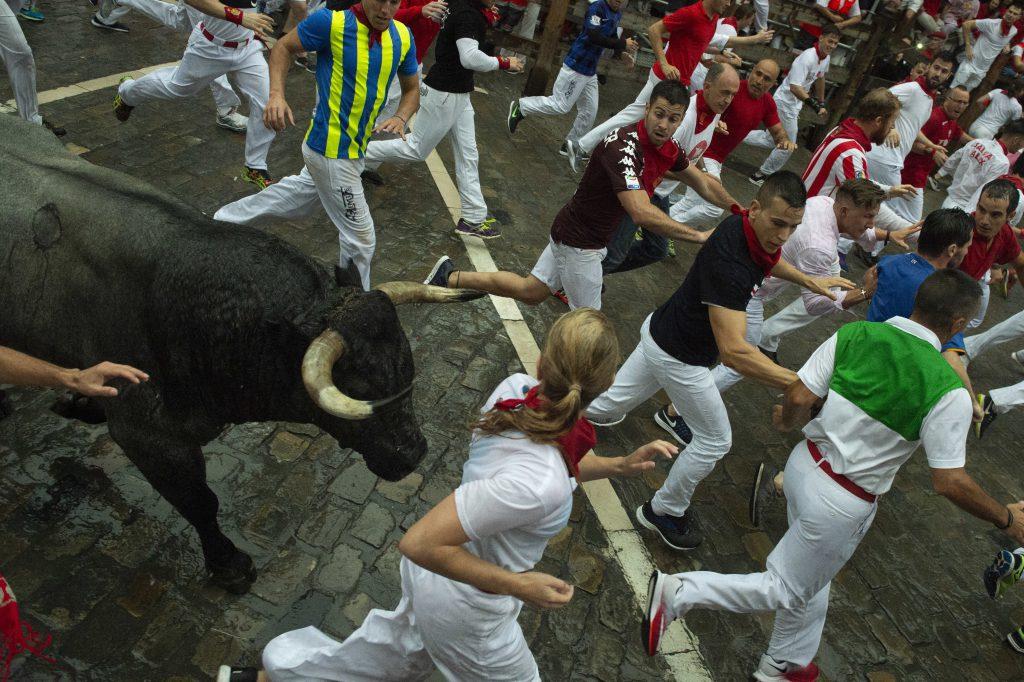 Pamplona Stierlauf top10 extremsportarten