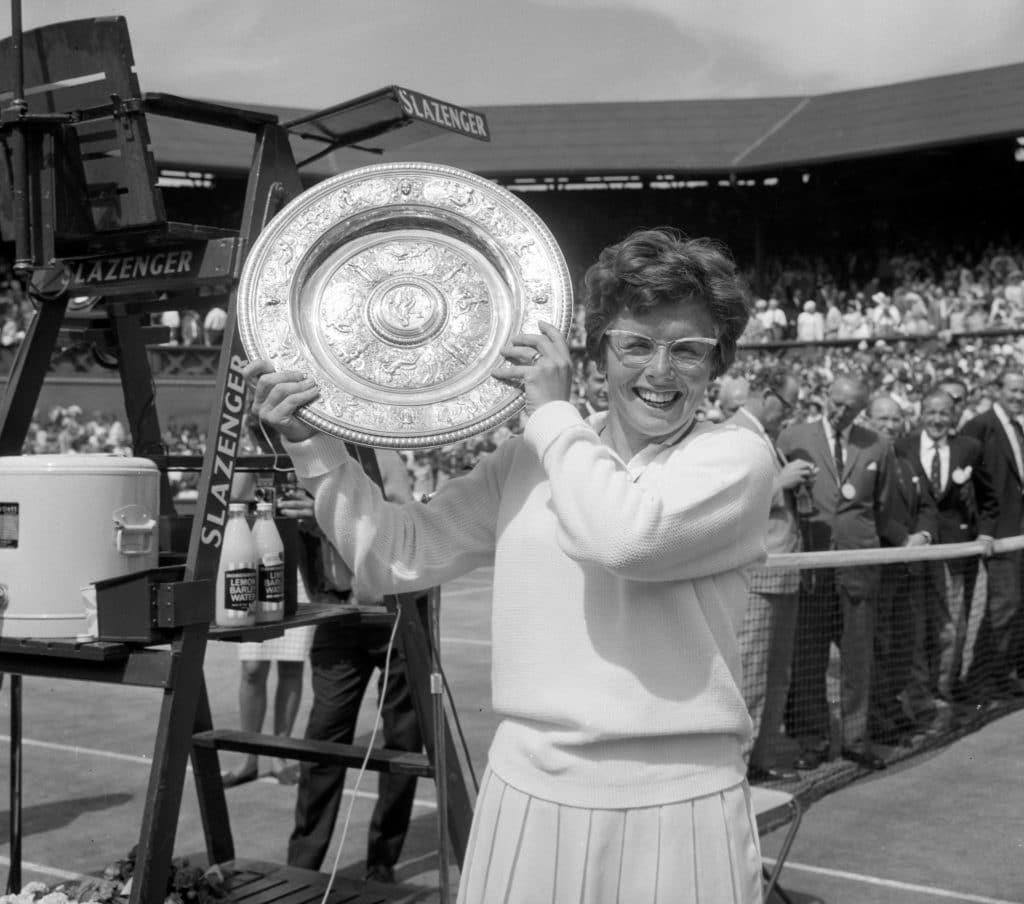 Billie Jean King größte Tennisspielerin aller Zeiten