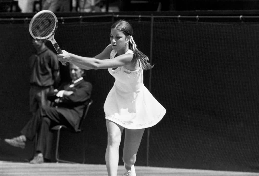 Chris Evert größte Tennisspielerin aller Zeiten
