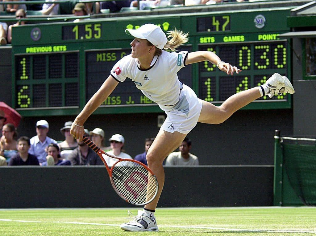 Justine Henin größte Tennisspielerin aller Zeiten