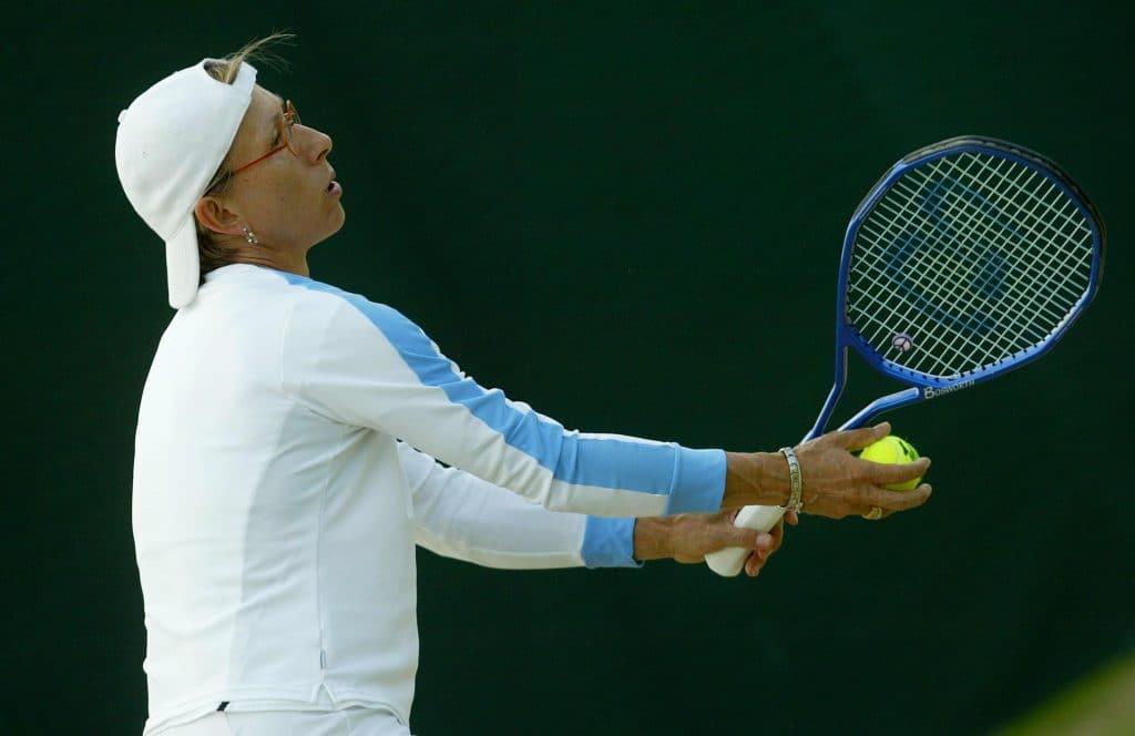 Martina Navratilova größte Tennisspielerin aller Zeiten
