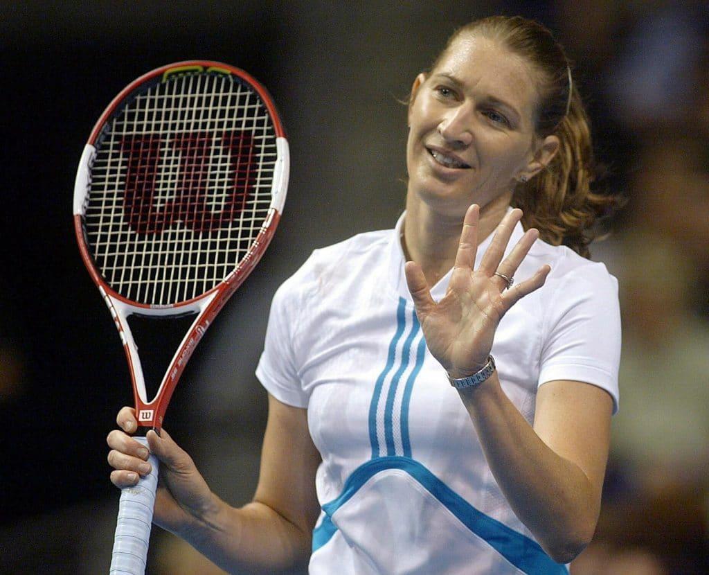 Steffi Graf größte Tennisspielerin aller Zeiten