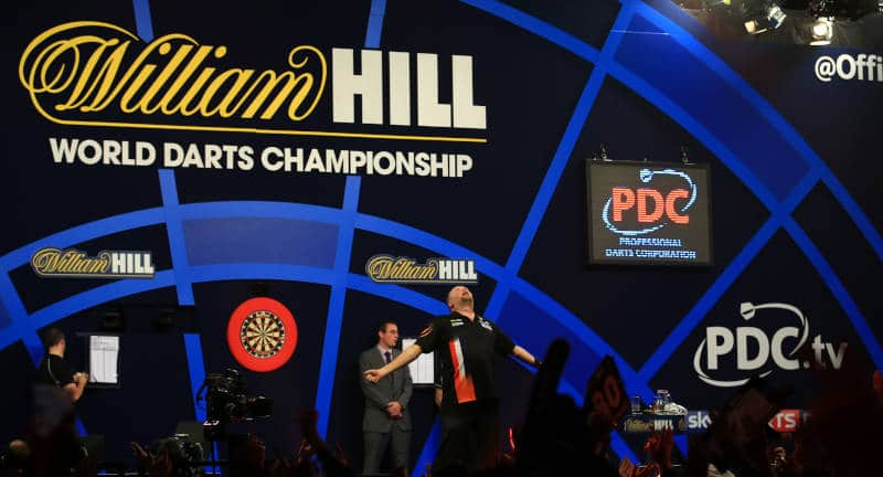 Darts Wette mit William Hill