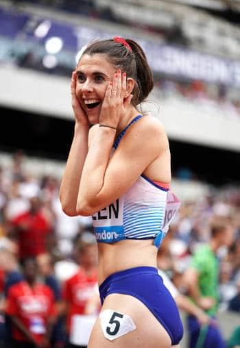 Olympische Spiele Wetten, Olivia Breen