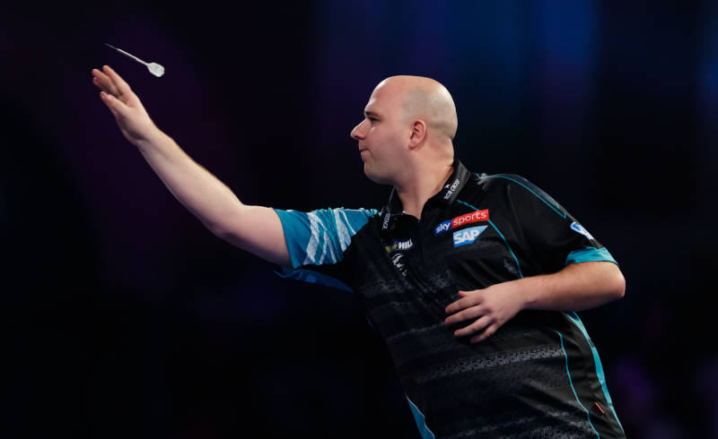 Darts Wetten Rob Cross