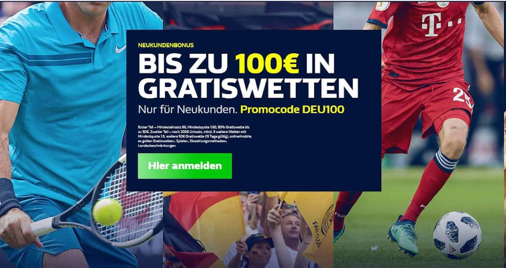 Bei William Hill registrieren 1