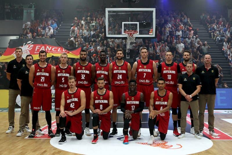 Basketball-Team-Germany