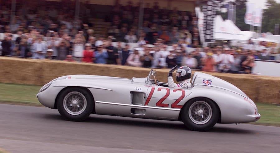 Formel 1 Silberpfeil.