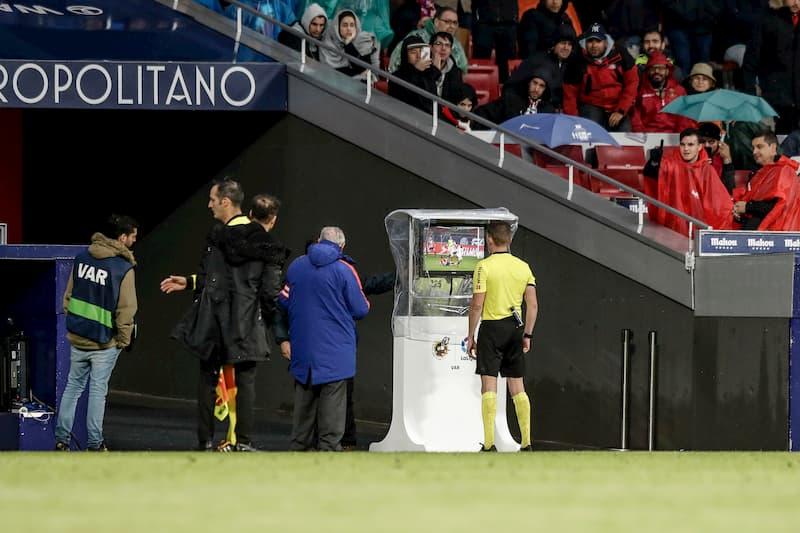 Videobeweis in La Liga.