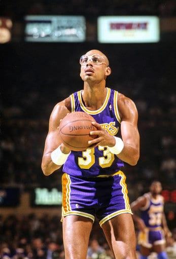 Kareem Abdul - top Basketballer
