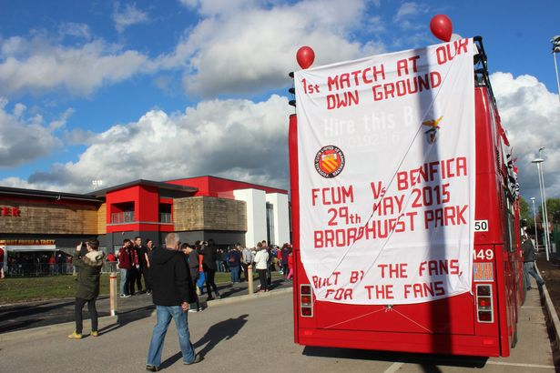 United of Manchester Bus