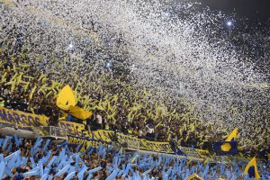 Boca Juniors Fans.