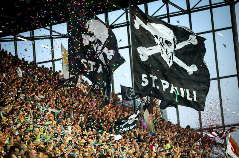 St. Pauli Fans.