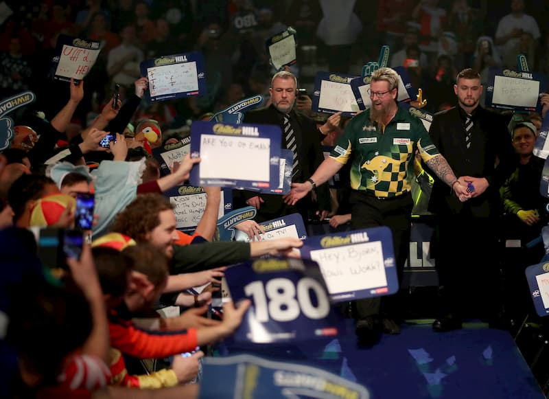 Darts World Matchplay Wetten 2020