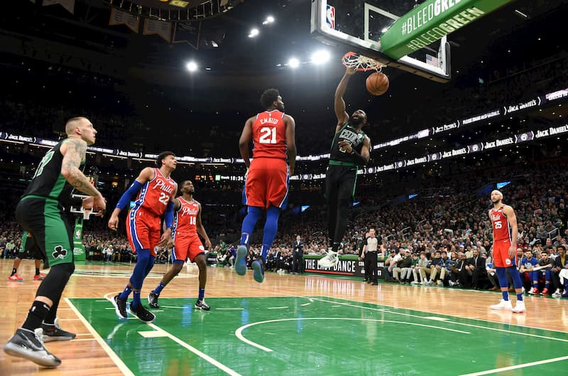 Boston Celtic Philadelphia 76ers NBA