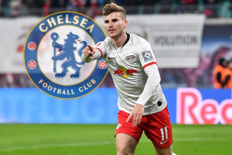Timo Werner chelsea London