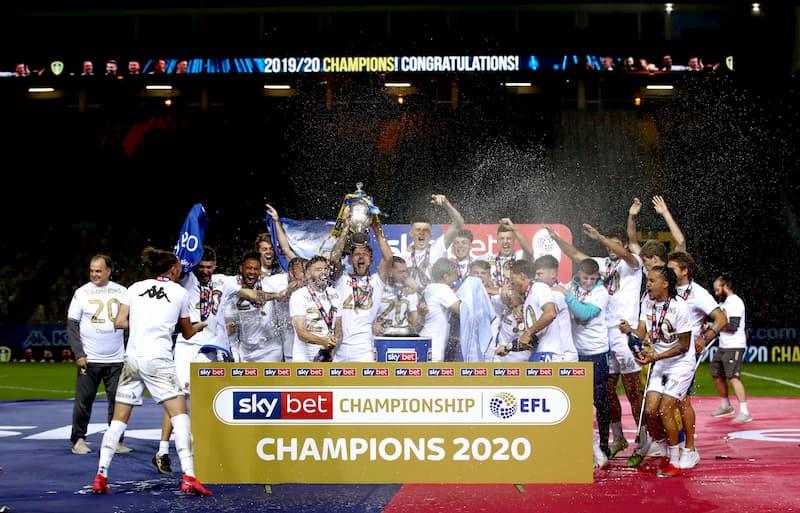 Leeds United Campionship Sieger 2020