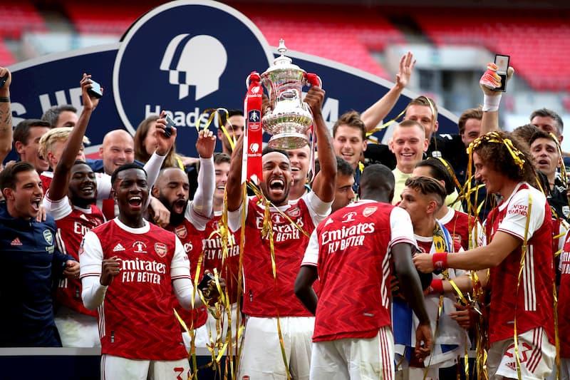 Arsenal London FA Cup 2020