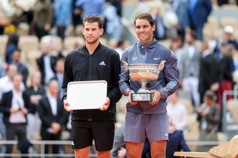 NAdal Thiem French Open 2019