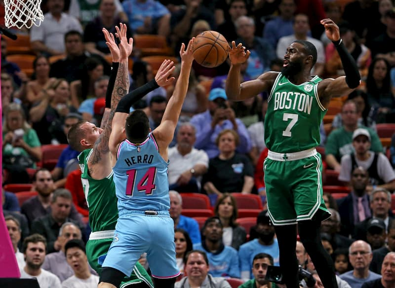 NBA boston Celtics Miami Heat