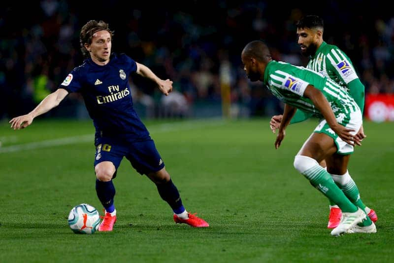 Modric Real Madrid Sevilla
