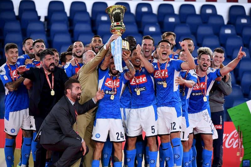 SSC Neapel Pokalsieger