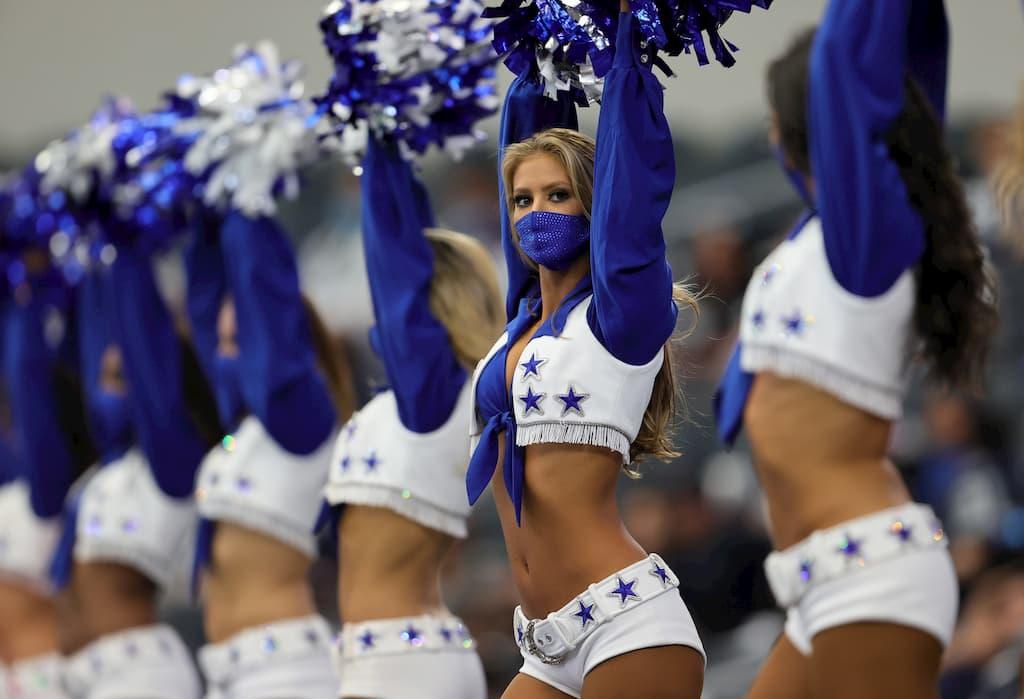 NFL Wetten Dallas Cowboys cheerleader