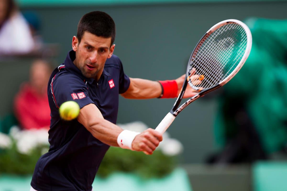 French Open Novak Djokovic