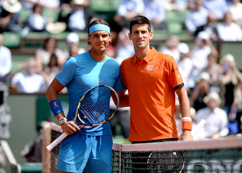 Nadal Djokovic French Open
