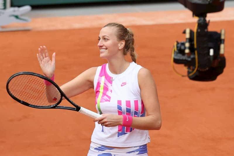 Petra Kvitova French Open 2020