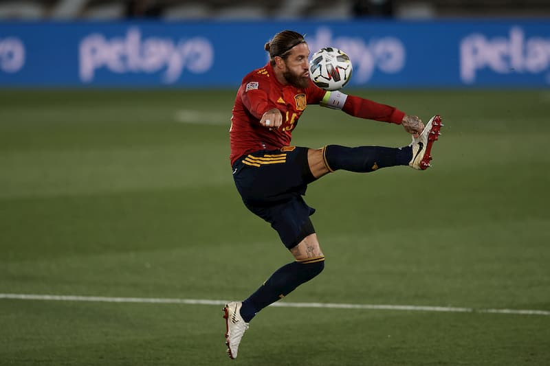 Sergio Ramos LaLiga Barcelona