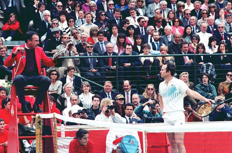 Die besten Tennisspieler aller Zeiten McEnroe