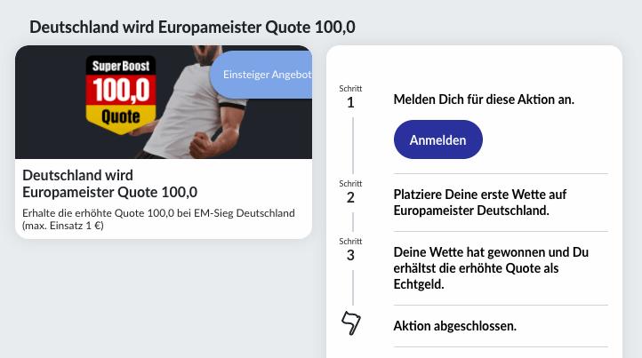 Bildbet EM 2021 Bonus