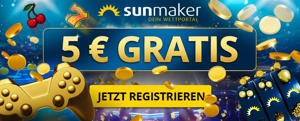 sunmaker bonus ohne einzahlung