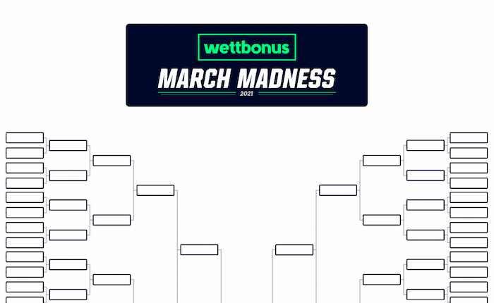 March Madness Bracket zum Download