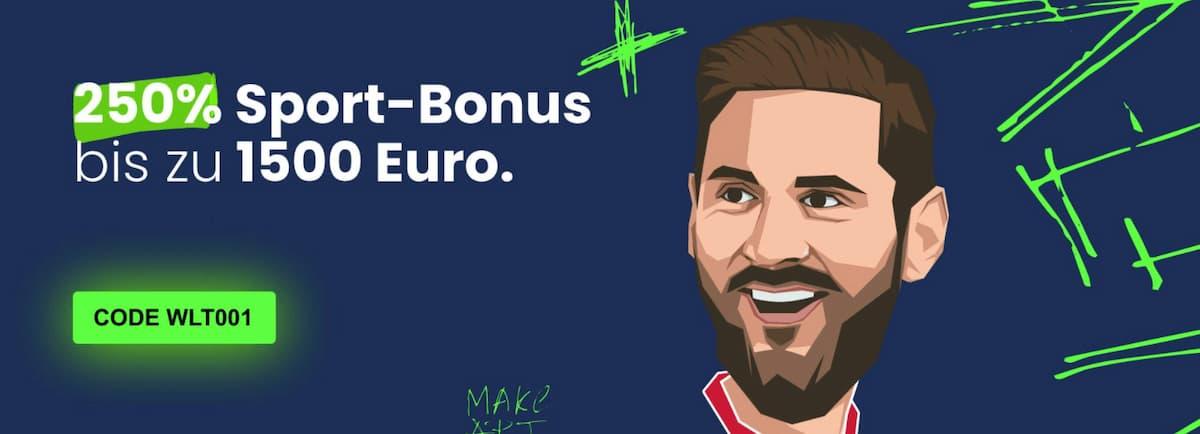 Weltbet Bonus